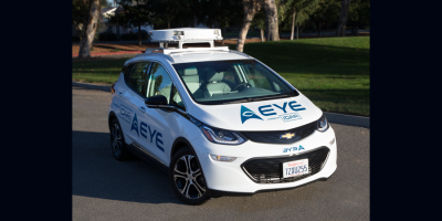 AE100 Autonomous Vehicle 2018